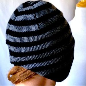 Lululemon Over-the-ears Stripped Knit Hat